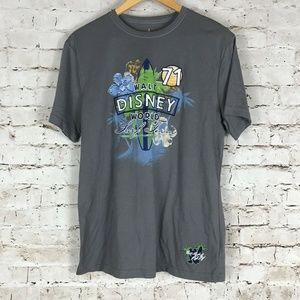 Walt Disney World T-Shirt Men's Size Small Gray